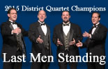 2015 District Quartet Champions