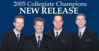 2005 District Collegiate Quartet Champions